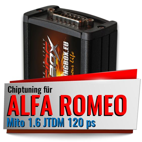 chiptuning alfa romeo mito 1 6 jtdm 120 ps racing box. Black Bedroom Furniture Sets. Home Design Ideas
