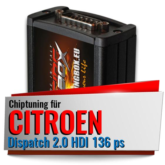 Chiptuning Citroen Dispatch 2.0 HDI 136 ps