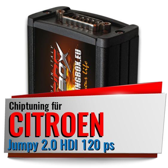 Chiptuning Box Citroen Jumpy  2,0 HDI  120PS