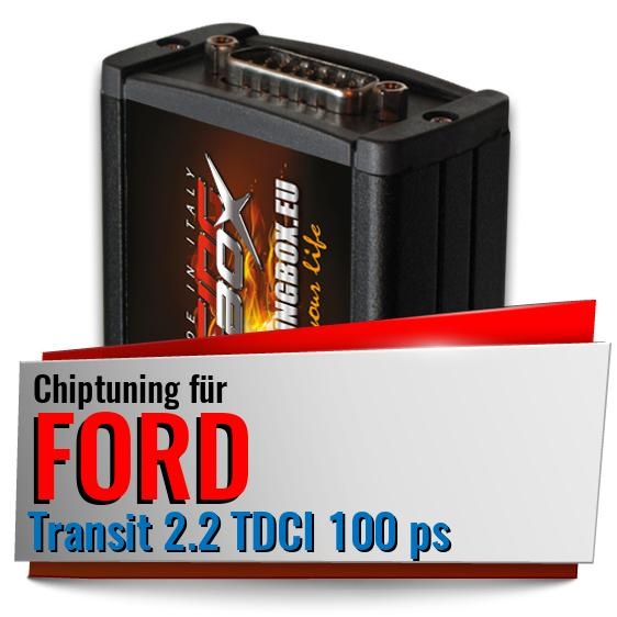 Chiptuning Ford Transit 2.2 TDCI 100 ps