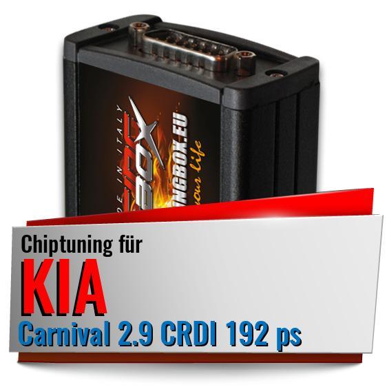 Chiptuning Kia Carnival 2 9 Crdi 192 Ps