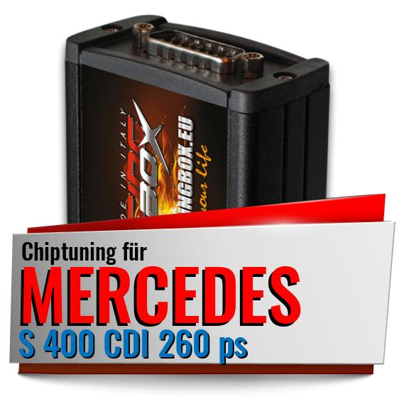 Chiptuning Mercedes S 400 CDI 260 ps