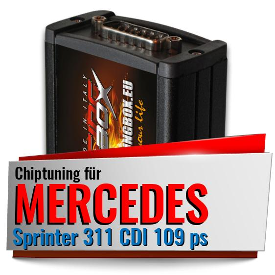 Chiptuning Mercedes Sprinter 311 CDI 109 ps
