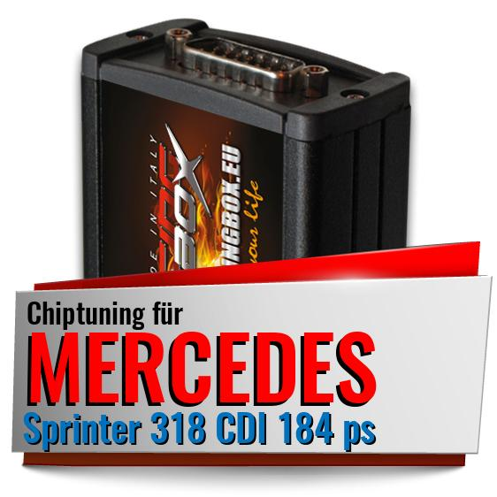 Chiptuning Mercedes Sprinter 318 CDI 184 ps