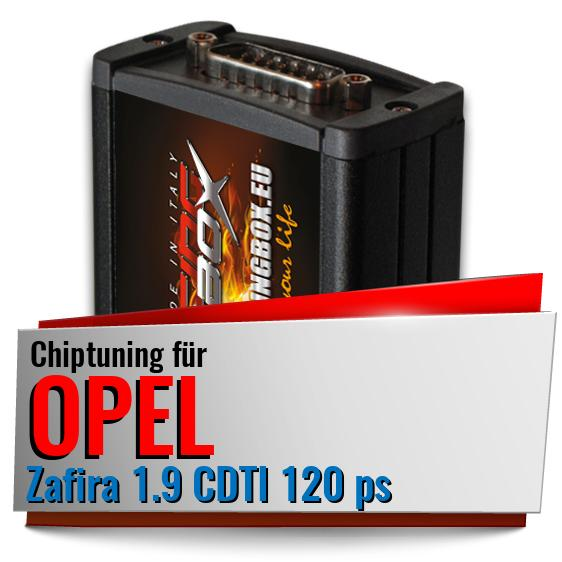 Chiptuning Opel Zafira 1.9 CDTI 120 ps