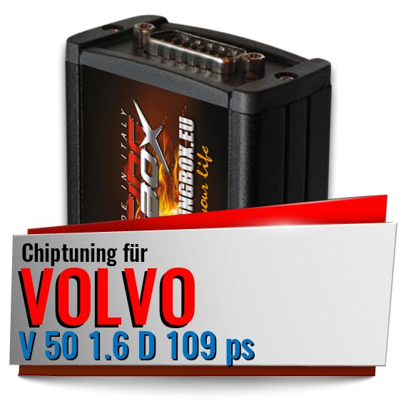 Chiptuning Volvo V 50 1.6 D 109 ps