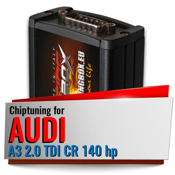 Chiptuning Audi A3 2.0 TDI CR 140 hp
