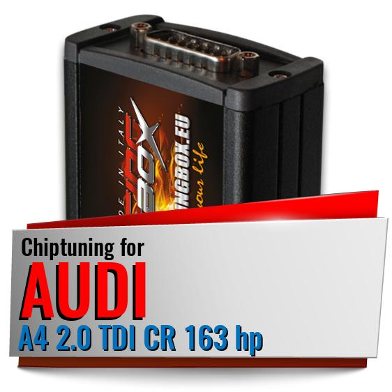 Chiptuning Audi A4 2.0 TDI CR 163 hp