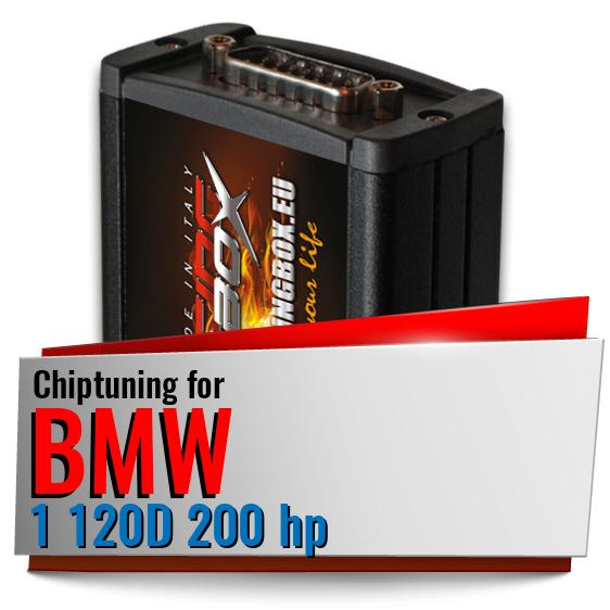 Chiptuning Bmw 1 120D 200 hp