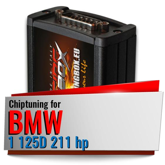 Chiptuning Bmw 1 125D 211 hp