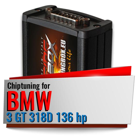 Chiptuning Bmw 3 GT 318D 136 hp