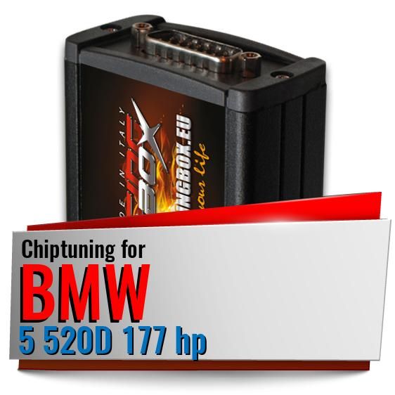 Chiptuning Bmw 5 520D 177 hp