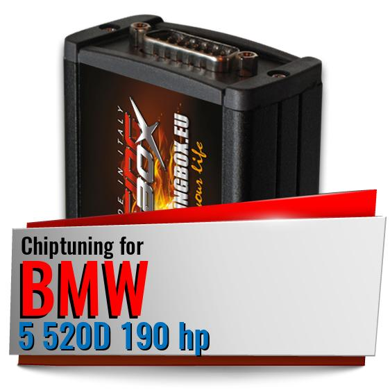 Chiptuning Bmw 5 520D 190 hp