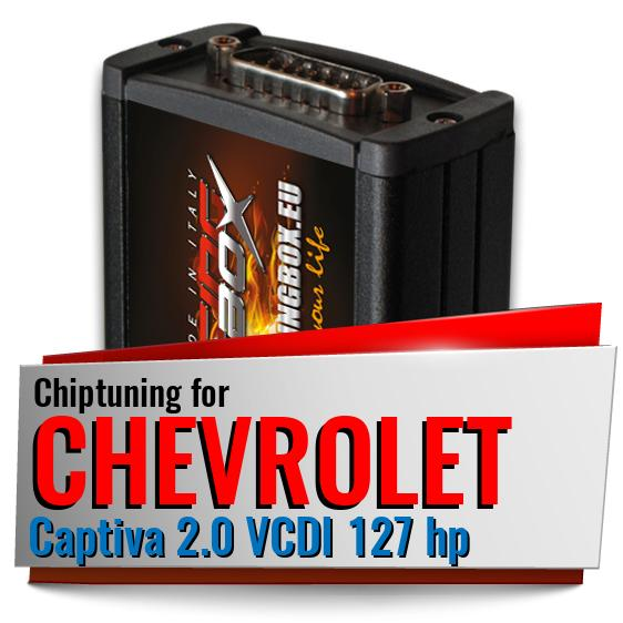 Chiptuning Chevrolet Captiva 2.0 VCDI 127 hp