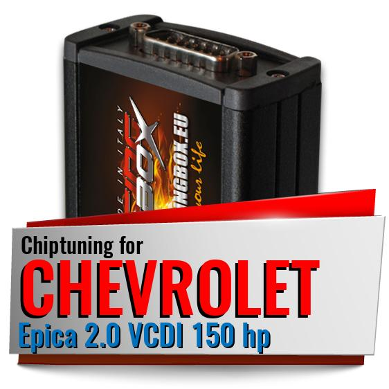 Chiptuning Chevrolet Epica 2.0 VCDI 150 hp