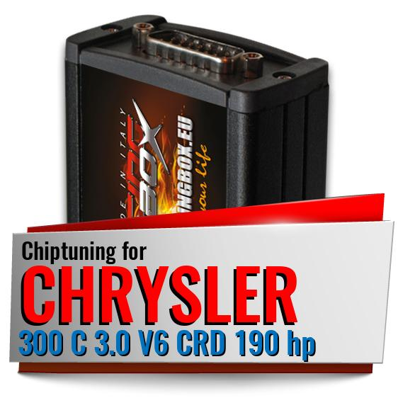 Chiptuning Chrysler 300 C 3.0 V6 CRD 190 hp