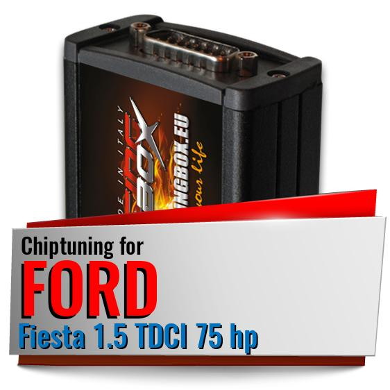 Chiptuning Ford Fiesta 1.5 TDCI 75 hp