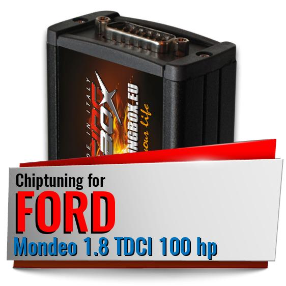 Chiptuning Ford Mondeo 1.8 TDCI 100 hp