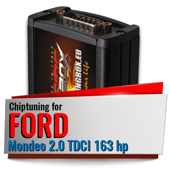 Chiptuning Ford Mondeo 2.0 TDCI 163 hp