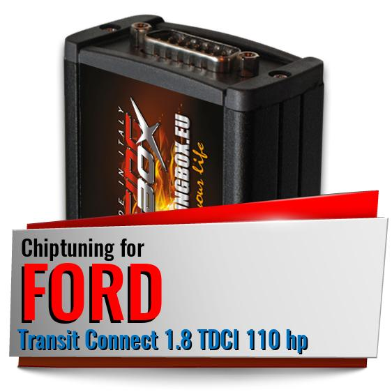 Chiptuning Ford Transit Connect 1.8 TDCI 110 hp