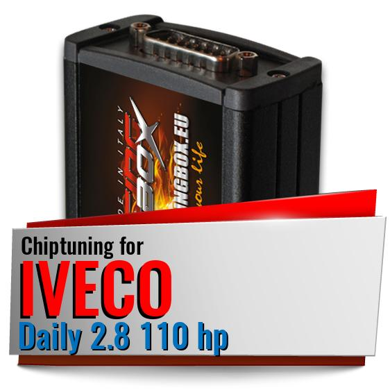 Chiptuning Iveco Daily 2.8 110 hp