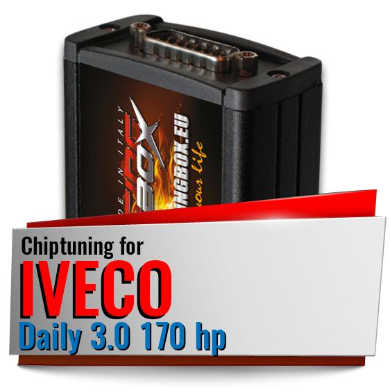 Chiptuning Iveco Daily 3.0 170 hp