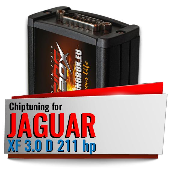 Chiptuning Jaguar XF 3.0 D 211 hp