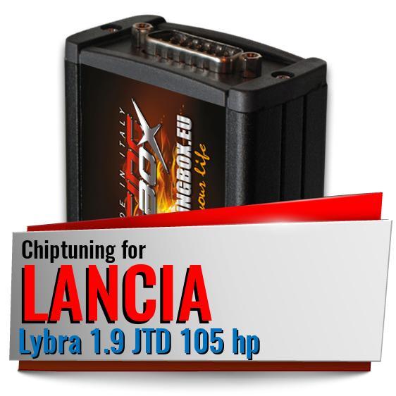 chiptuning lancia lybra 1 9 jtd 105 hp racing box. Black Bedroom Furniture Sets. Home Design Ideas