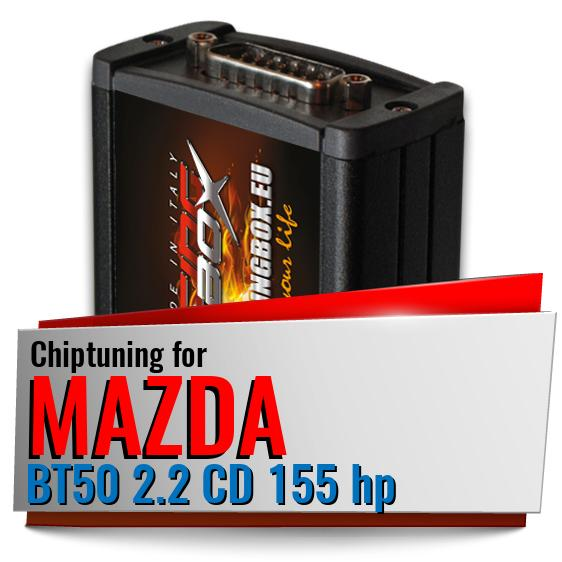 Chiptuning Mazda BT50 2.2 CD 155 hp