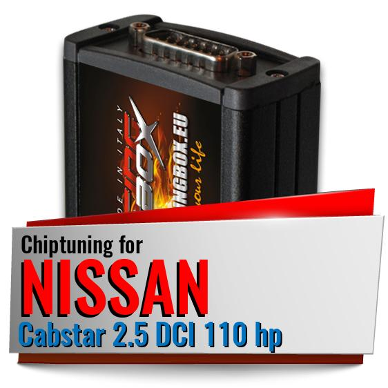 Chiptuning Nissan Cabstar 2.5 DCI 110 hp