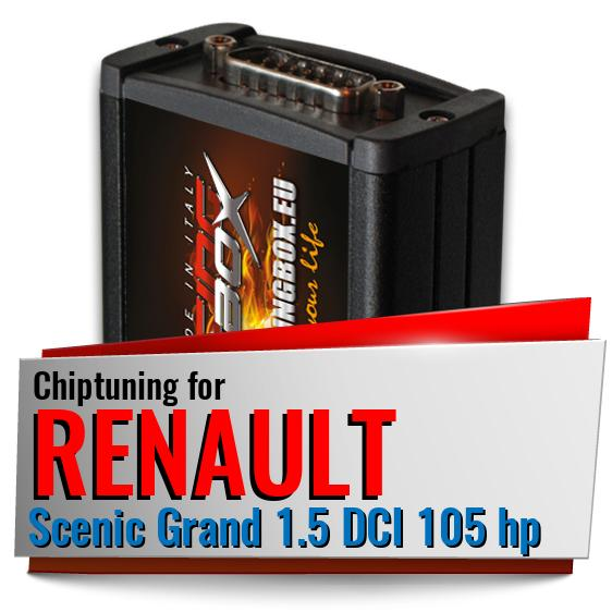 Chiptuning Renault Scenic Grand 1.5 DCI 105 hp