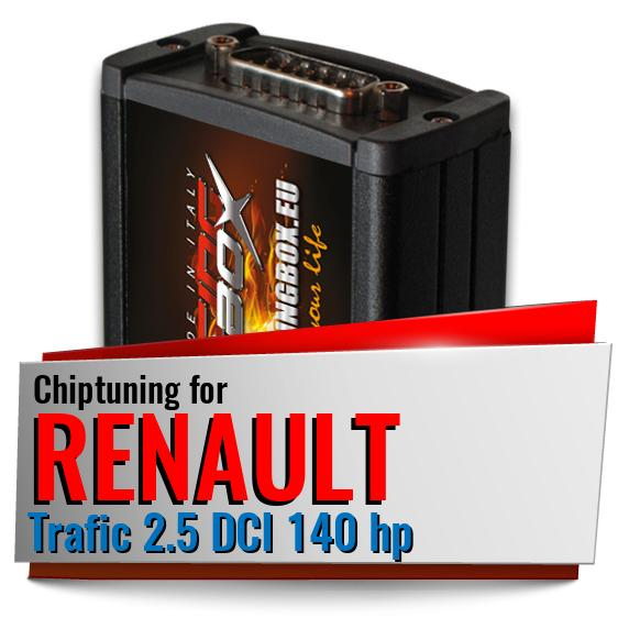 Chiptuning Renault Trafic 2.5 DCI 140 hp