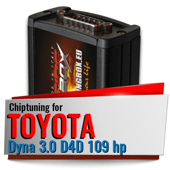 Chiptuning Toyota Dyna 3.0 D4D 109 hp