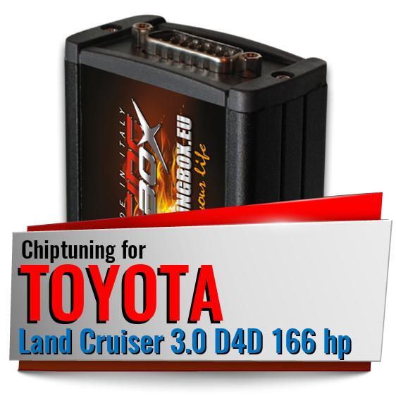 Chip Tuning Box TOYOTA LAND CRUISER 3.0 D-4D 163 166 173 190 HP 4.5 D-4D 286 CR