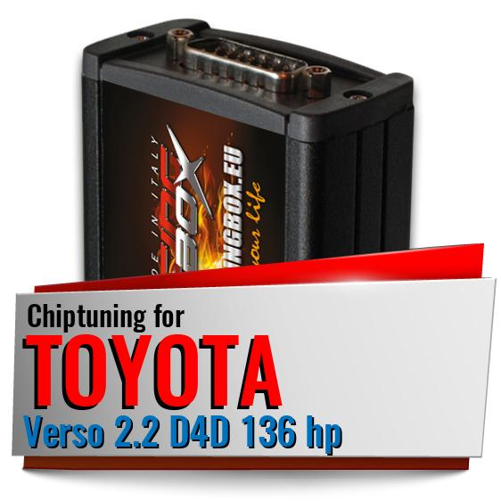 Chiptuning Toyota Verso 2.2 D4D 136 hp