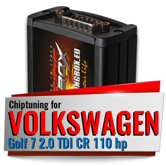 Chiptuning Volkswagen Golf 7 2.0 TDI CR 110 hp