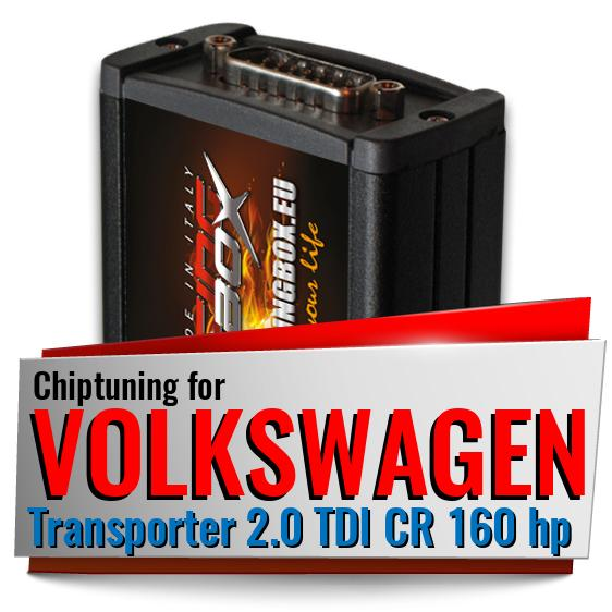 Chiptuning Volkswagen Transporter 2.0 TDI CR 160 hp