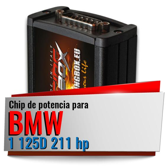 Chip de potencia Bmw 1 125D 211 hp
