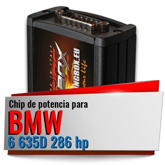 Chip de potencia Bmw 6 635D 286 hp