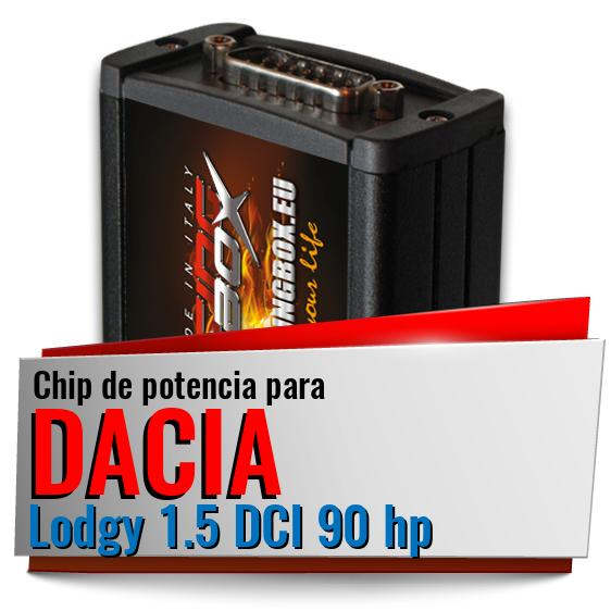 Chip de potencia Dacia Lodgy 1.5 DCI 90 hp