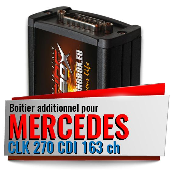 Boitier additionnel Mercedes CLK 270 CDI 163 ch