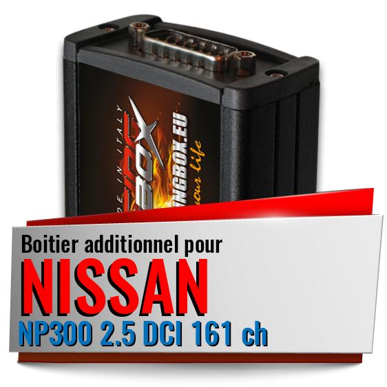 Boitier additionnel Nissan NP300 2.5 DCI 161 ch