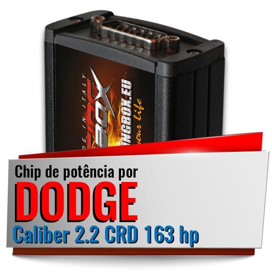 Chip de potência Dodge Caliber 2.2 CRD 163 hp   Racing Box