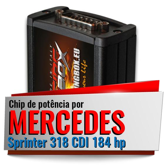 Chip de potência Mercedes Sprinter 318 CDI 184 hp
